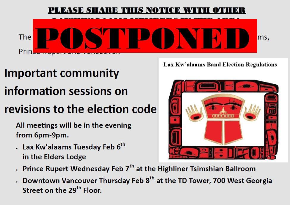 postponed Electoral mtg Feb5 2017